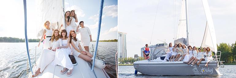 Девичник на яхте в Минске