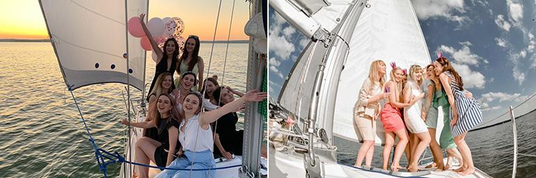 Аренда парусной яхты в Минске