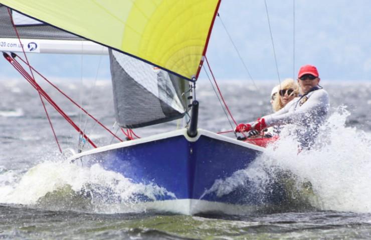 Яхта Laser SB20