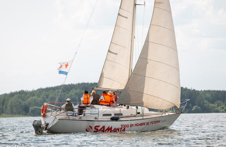 Яхта SAMANTA